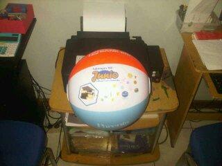 Balon Pantai Bulat (13)