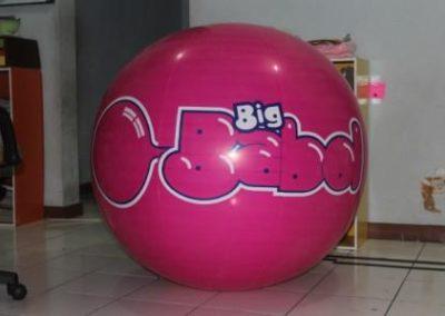 Balon Pantai Bulat (8)