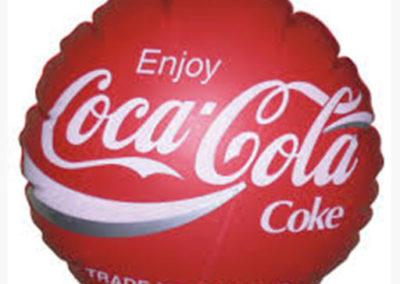 Jual Balon Koin Murah Coca Cola